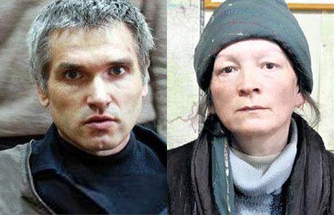 Маньяки Владимир Гурьянов и Эльвира Егорычева