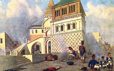 Солдаты Наполеона в Москве
