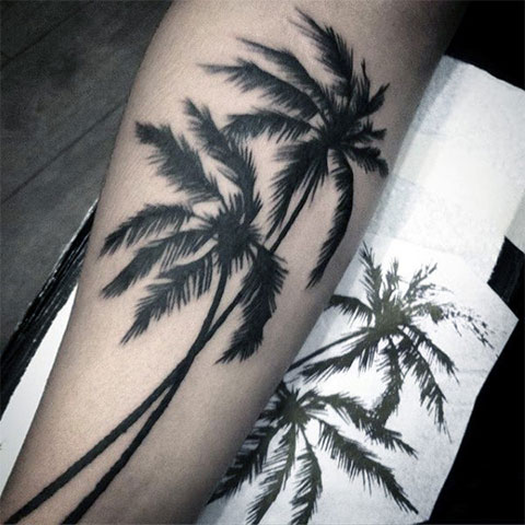 Тату пальма