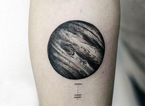 Тату планета Венера - фото