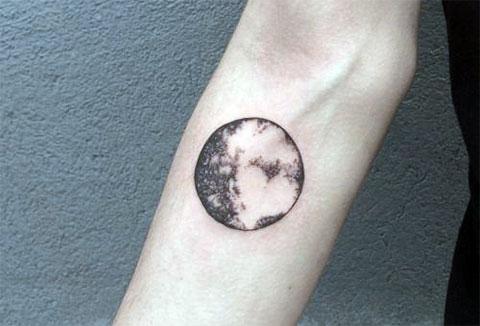 Тату планета Меркурий