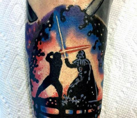 Тату Звездные войны