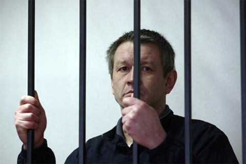 Вадим Федячкин на суде
