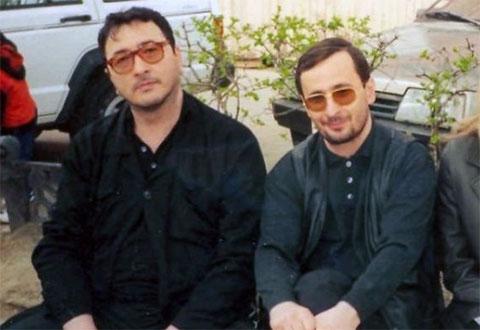 Слева воры в законе: Важа Биганишвили (Важа Тбилисский) и Николай Шалибашвили (Кока)