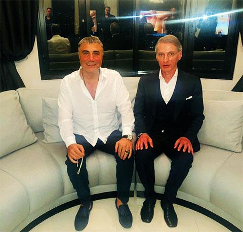 Слева: Седат Пекер и Бадри Когуашвили