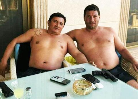 Слева: вор в законе Надир Салифов - Лоту Гули