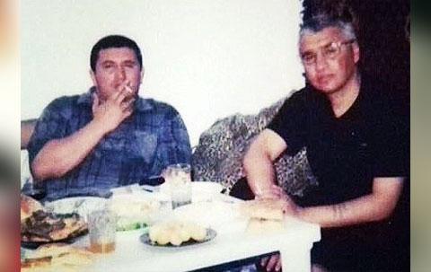 Слева воры в законе: Надир Салифов (Гули) и Хикмет Мухтаров