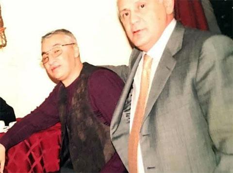 Слева воры в законе: Хикмет Мухтаров (Хикмет Сабирабадский) и Чингиз Ахундов (Чингиз Седой)