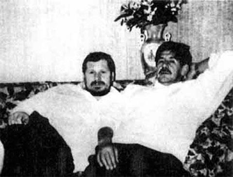 Смотрящие по Питеру Паша Кудряш и Костя Могила