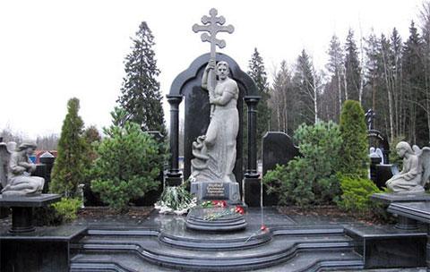 Могила Константина Яковлева (Костя Могила)