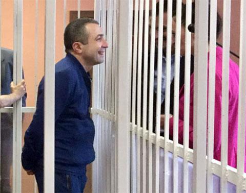 Вор в законе Рашад Исмаилов в суде Минского района 09.07.2019 года