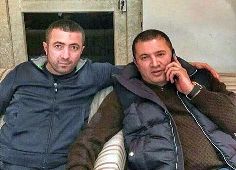 Слева воры в законе: Рашад Исмаилов (Рашад Гянджинский) и Надир Салифов (Лоту Гули)