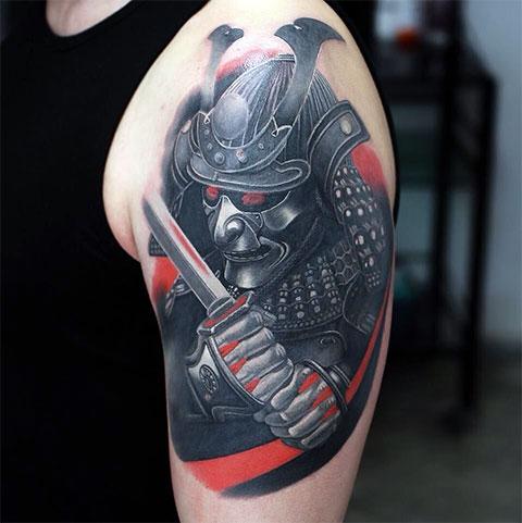 Тату самурай