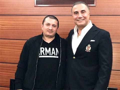 Слева: вор в законе Надир Салифов (Лоту Гули) и криминальный авторитет Седат Пекер