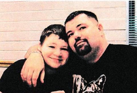 Джордан Браун с отцом