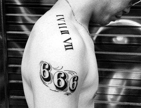 Тату 666