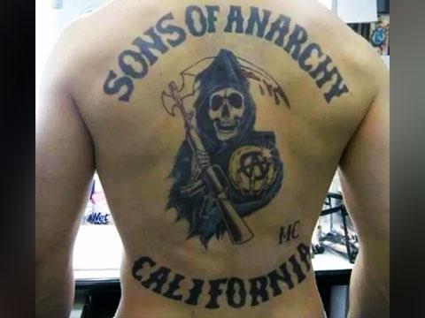 Тату сыны анархии