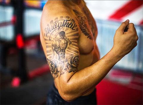 Тайский бокс татуировки