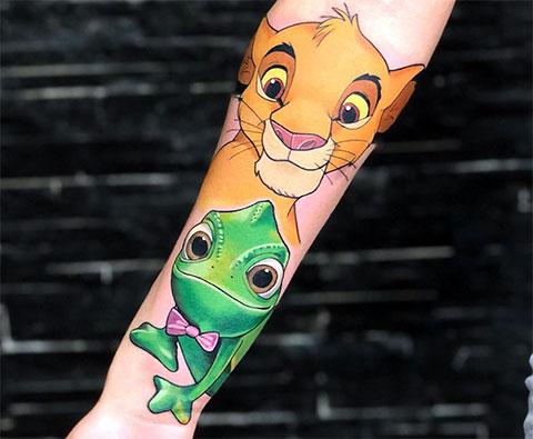 Татуировка Симба