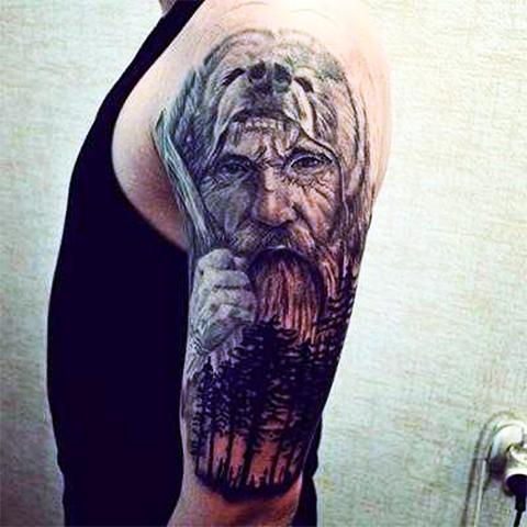 Тату Велеса - славянский оберег