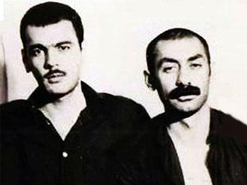 Слева: вор в законе Джаваншир Агаев с братом Эльшаном Агаевым