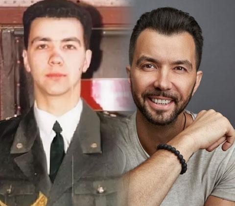 Денис Клявер и его армейское фото
