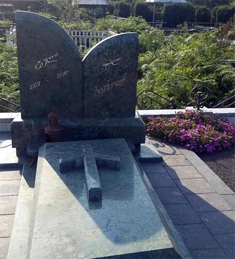 Могила Гелы Такидзе