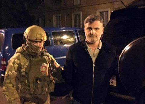 Вор в законе Серго Глонти - Гуга, задержание в 2017 году