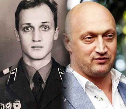 Гоша Куценко и его армейское фото