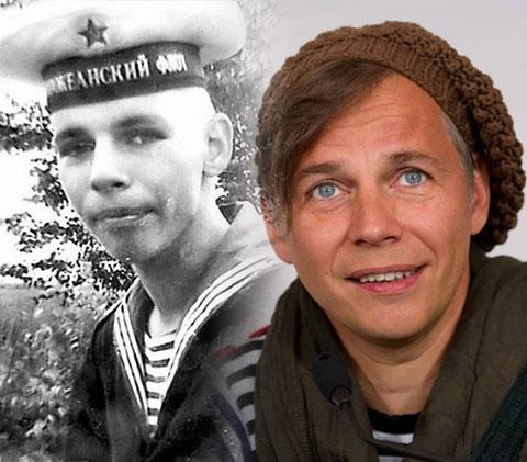Илья Лагутенко и его армейское фото