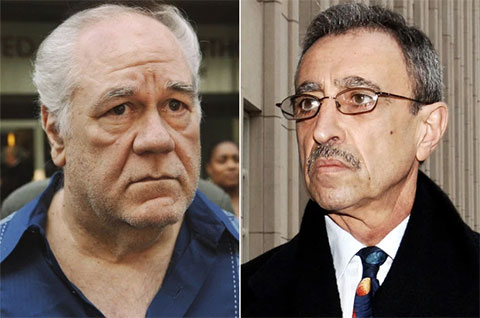 Слева: Луис Эпполито и Стивен Каракаппа