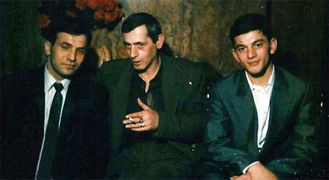 Слева воры в законе: Валерий Длугач (Глобус), Зураб Цинцадзе (Зури) и Гоча Джинчарадзе (Курша)
