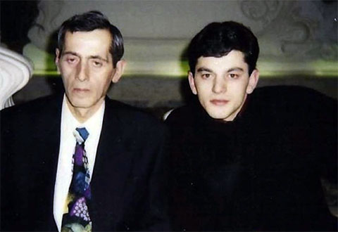 Слева воры в законе: Зураб Цинцадзе (Зури) и Гоча Джинчарадзе (Курша)