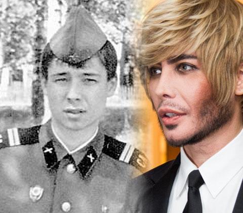 Сергей Зверев и его армейское фото