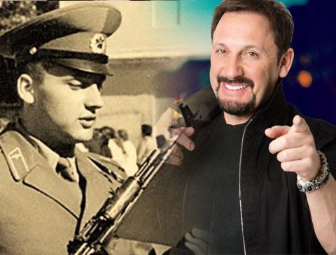 Стас Михайлов и его армейское фото