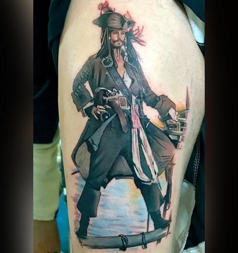 Татуировка капитана Джека Воробья