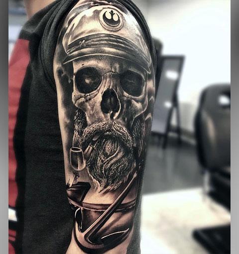 Татуировка капитан