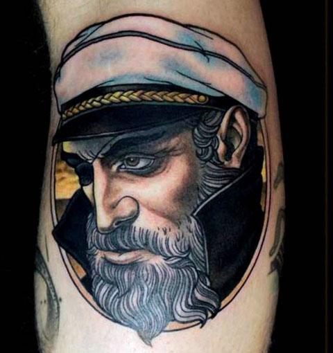 Тату капитан