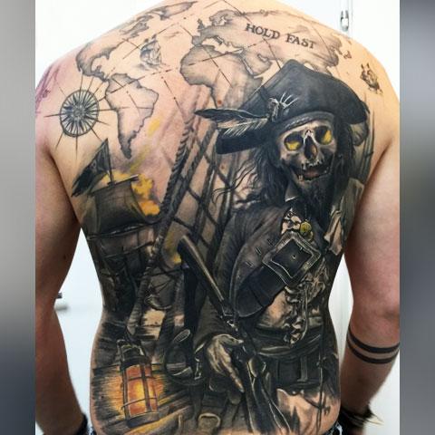 Пиратская татуировка