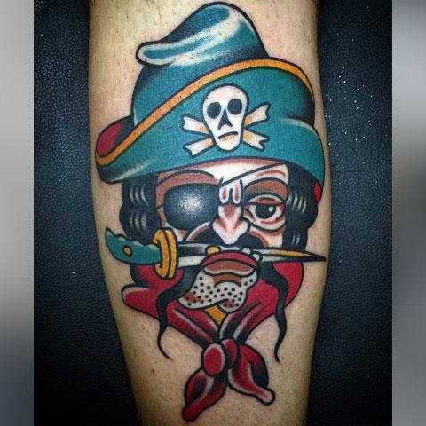 Татуировка пират