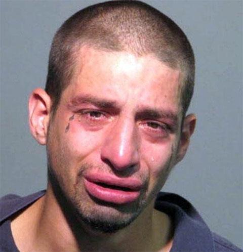 Тату слеза под глазом в тюрьме