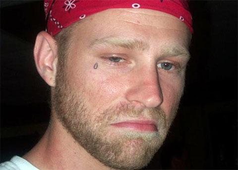 Татуировка слеза под глазом