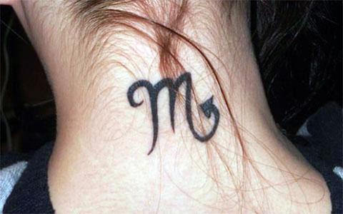 Татуировка знак зодиака дева для девушек - фото