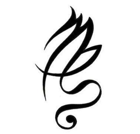 Эскиз для тату знак зодиака дева для девушек и мужчин