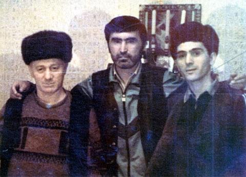 Слева воры в законе: Вахтанг Надареишвили (Кокиня) и Юлдаш Ашуров (Юлдаш Бостанлыкский)