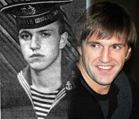Владимир Вдовиченков и его армейское фото
