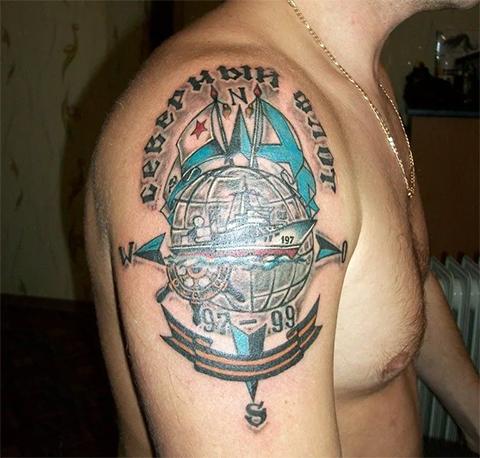 Татуировка северного флота