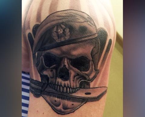 Армейская татуировка