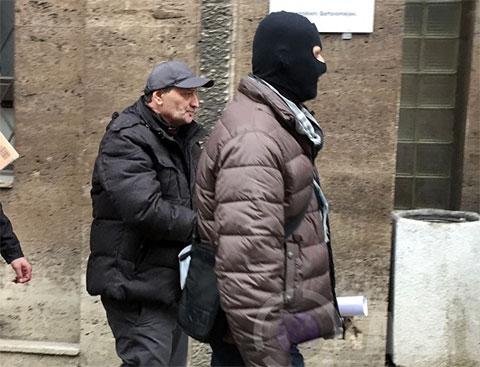 Давид Гваджая - задержание в Чехии 16.03.2016 года