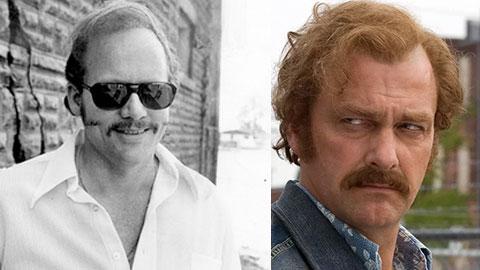 Слева: реальный прототип Дэнни Грин, справа: Рэй Стивенсон, сыгравший его в фильме
